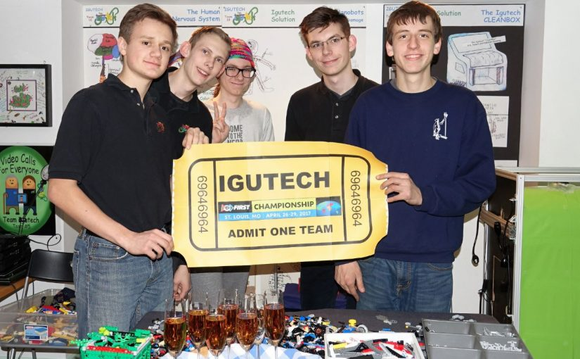 6964 IGUTECH is going to the WORLD CHAMPIONSHIP